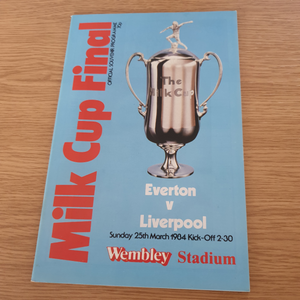 Everton v Liverpool 1984 League Cup Final