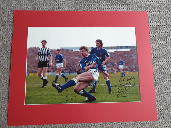 Signed Mounted Display Marco Gabbiadini Sunderland v Newcastle
