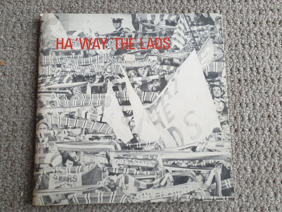Book Ha'Way The Lads Sunderland The Story of Sunderland and The FA Cup RARE