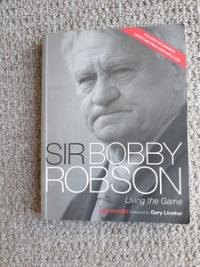Book Sir Bobby Robson Living The Game