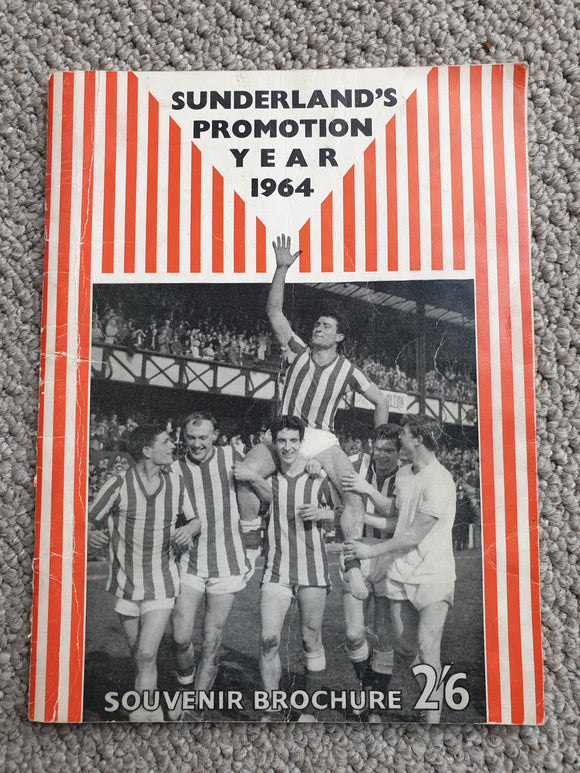 Book 1964 Sunderland Promotion Brochure