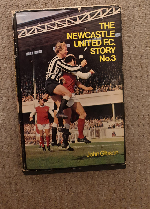 Book Newcastle Utd Story Number 3 1972