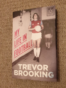 Book Trevor Brooking My Life in Football 2014