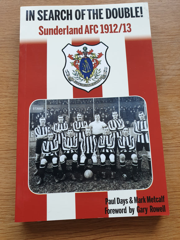 Book In Search of The Double 1912/13 Sunderland AFC (2011)