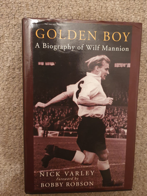 Book Golden Boy Wilf Mannion Middlesbrough A Biography