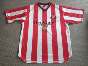 Sunderland Home Shirt 2000/02 XL