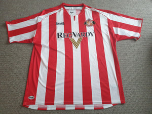 Sunderland Home Shirt 2005/06 2XL