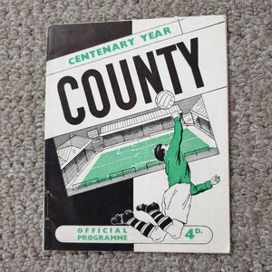 Match Programme Notts County v Margate FA Cup 1961/2