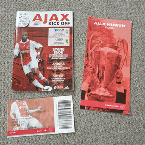 Ajax v Juventus/Vitesse Double issue 2009/10