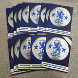 Chelsea FC 1977/78 Complete set of Home Programme Includes Official Club Binder