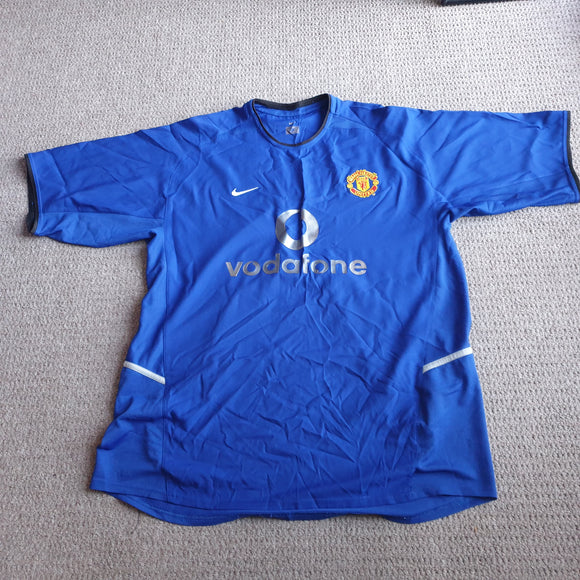 Manchester United 2002/03 Away 3rd Shirt