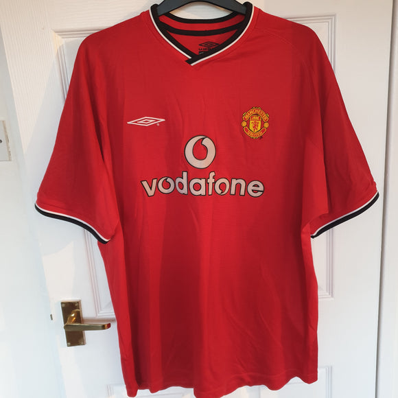 Manchester United 2000/02 Home Shirt