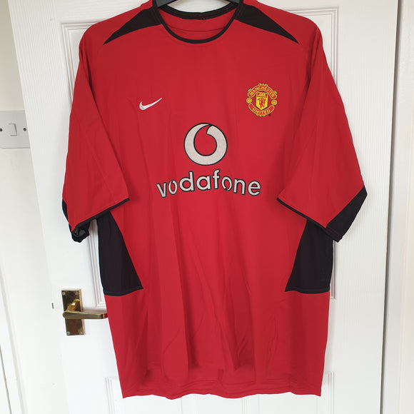 Manchester United 2002/04 Home Shirt