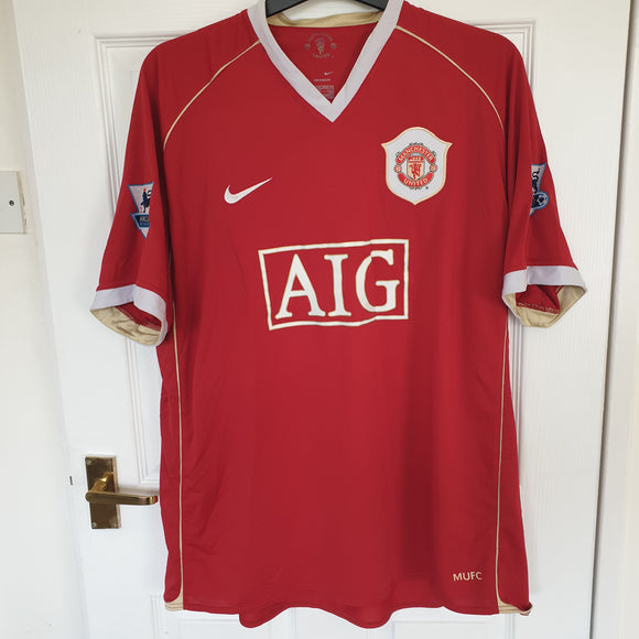 Manchester United 2006/07 Home Shirt #11 GIGGS