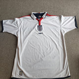 England Home Shirt 2003/05 XL