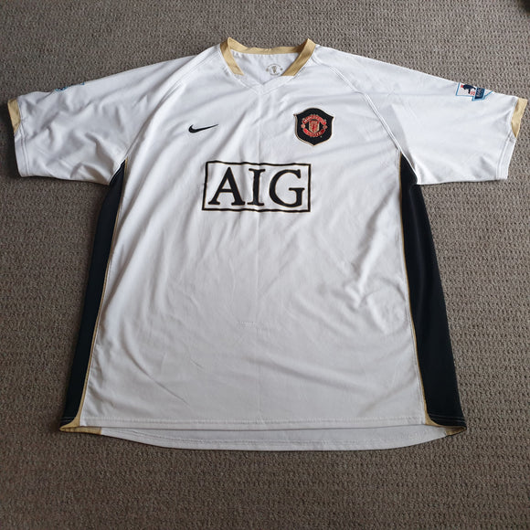 Manchester United 2006/08 Away Shirt #8 Rooney