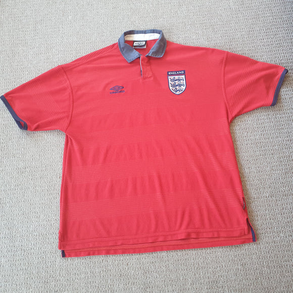 England away shirt 1999/01 XL