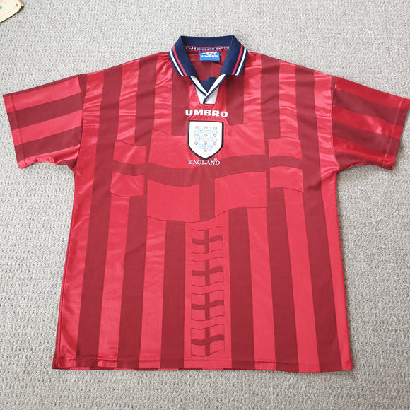 England Away Shirt 1997/99 XL