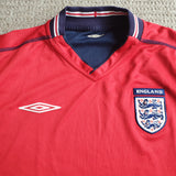 England Away Shirt 2002/04 L