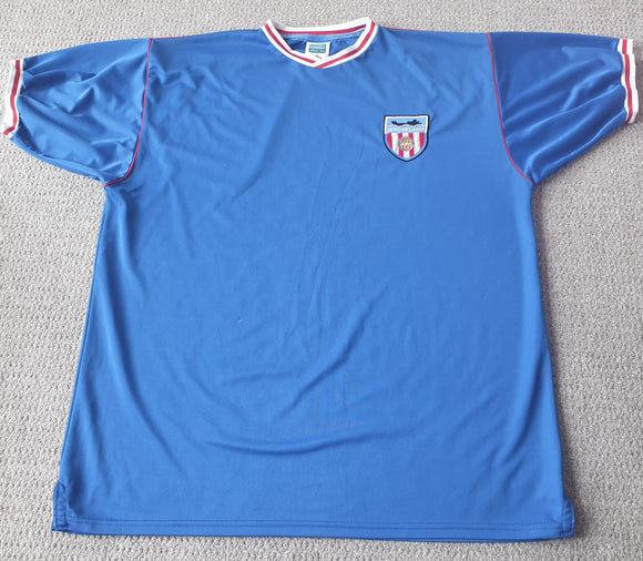 Sunderland Away Shirt 1988/91 2XL