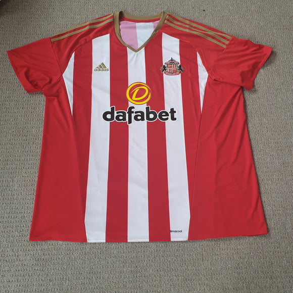 Sunderland Home Shirt 2016/17 3XL