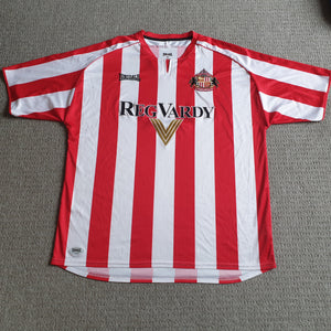 Sunderland Home Shirt 2005/07 XL