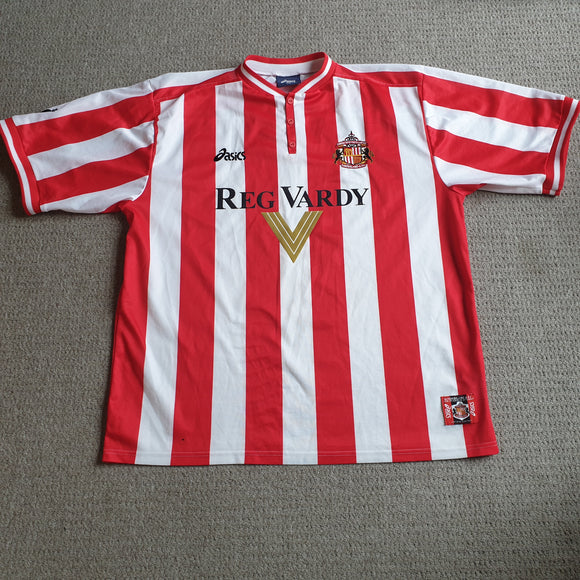 Sunderland Home Shirt 1999/00 2XL