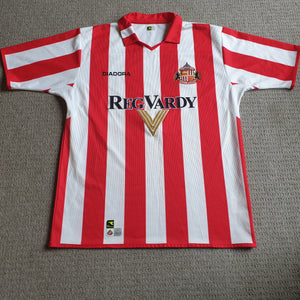 Sunderland Home Shirt 2004/05 L