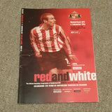Sunderland v Leicester City Football Echo & Match Programme 2004/5
