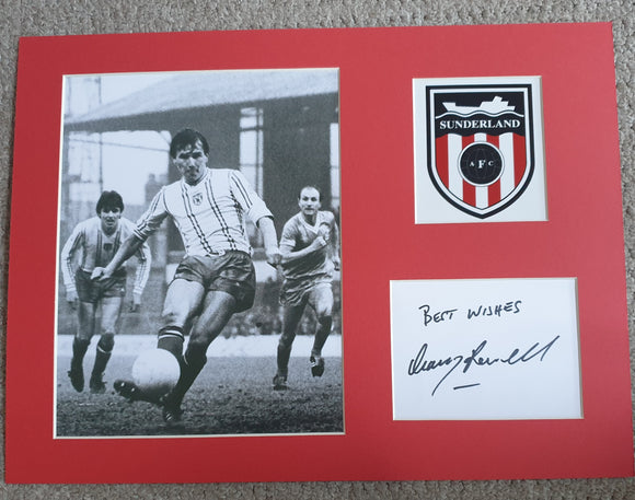 Sunderland Gary Rowell Signed Display 16x12