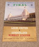 1973 FA Cup Final Leeds United v Sunderland