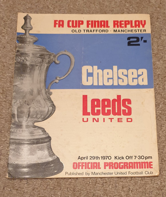 Chelsea v Leeds 1970 FA Cup Final Replay