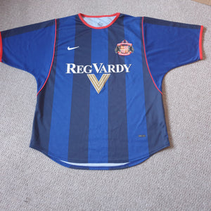 Sunderland Away Shirt 2001/02 MED
