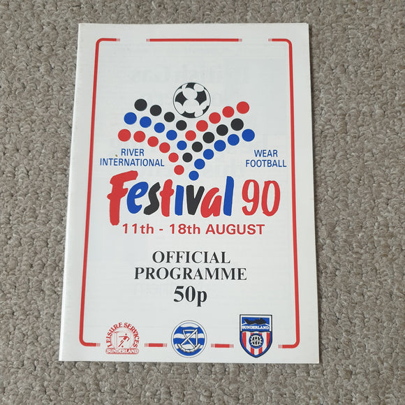 Festival of Football Sunderland 1990 Celtic Feyenoord Barcelona