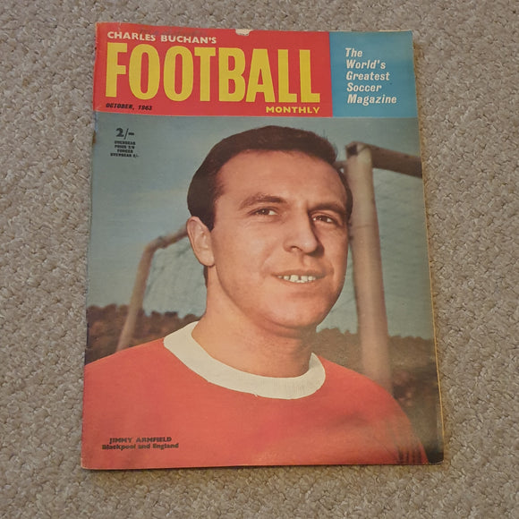 Charles Buchan Football Monthly October 1963