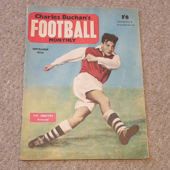 Charles Buchan's Football Monthly September 1956