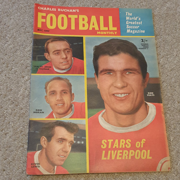 Charles Buchan's Football Monthly May 1963