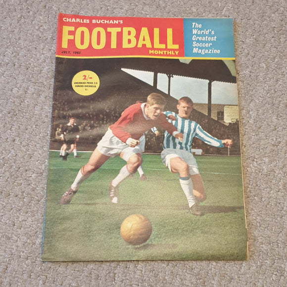 Charles Buchan's Football Monthly July 1963