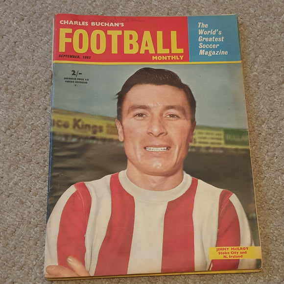 Charles Buchan's Football Monthly September 1963