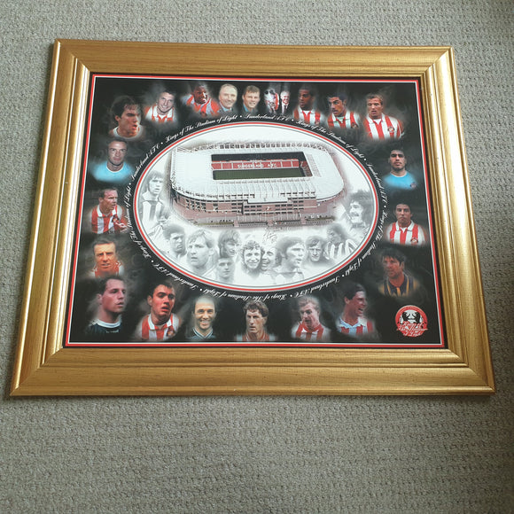 Sunderland Kings of the Stadium of Light Framed Print