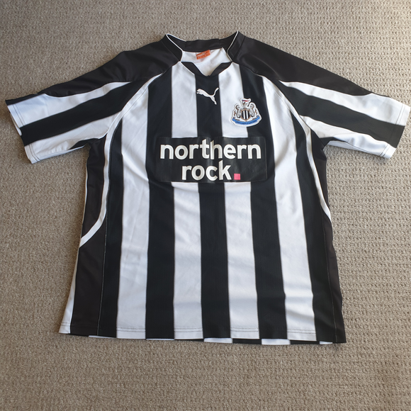 Newcastle United Home Shirt 210/11