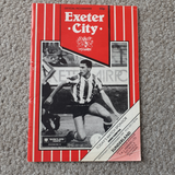 Exeter City v Sunderland FLC 1989/90 inc 1931 Cup reprint