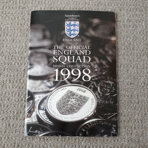 England World Cup 1998 Medal Collection