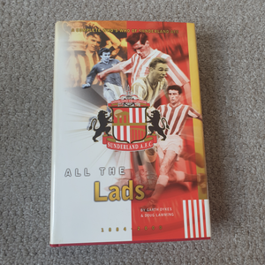 Book Sunderland All The Lads 1884 - 2000