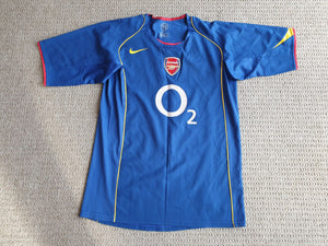 Arsenal Away Shirt 2004/5 MED