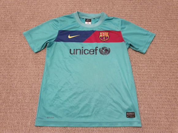 Barcelona Away Shirt 2010/11