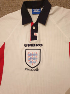 England Home Shirt 1997/98 L