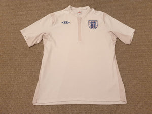 England Home Shirt 2010 XL