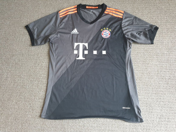 Bayern Munich 3rd Shirt 2015/16 - Grey