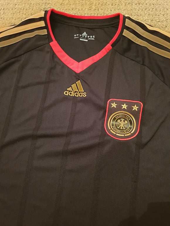 Germany Away Shirt 2010/11 - Black